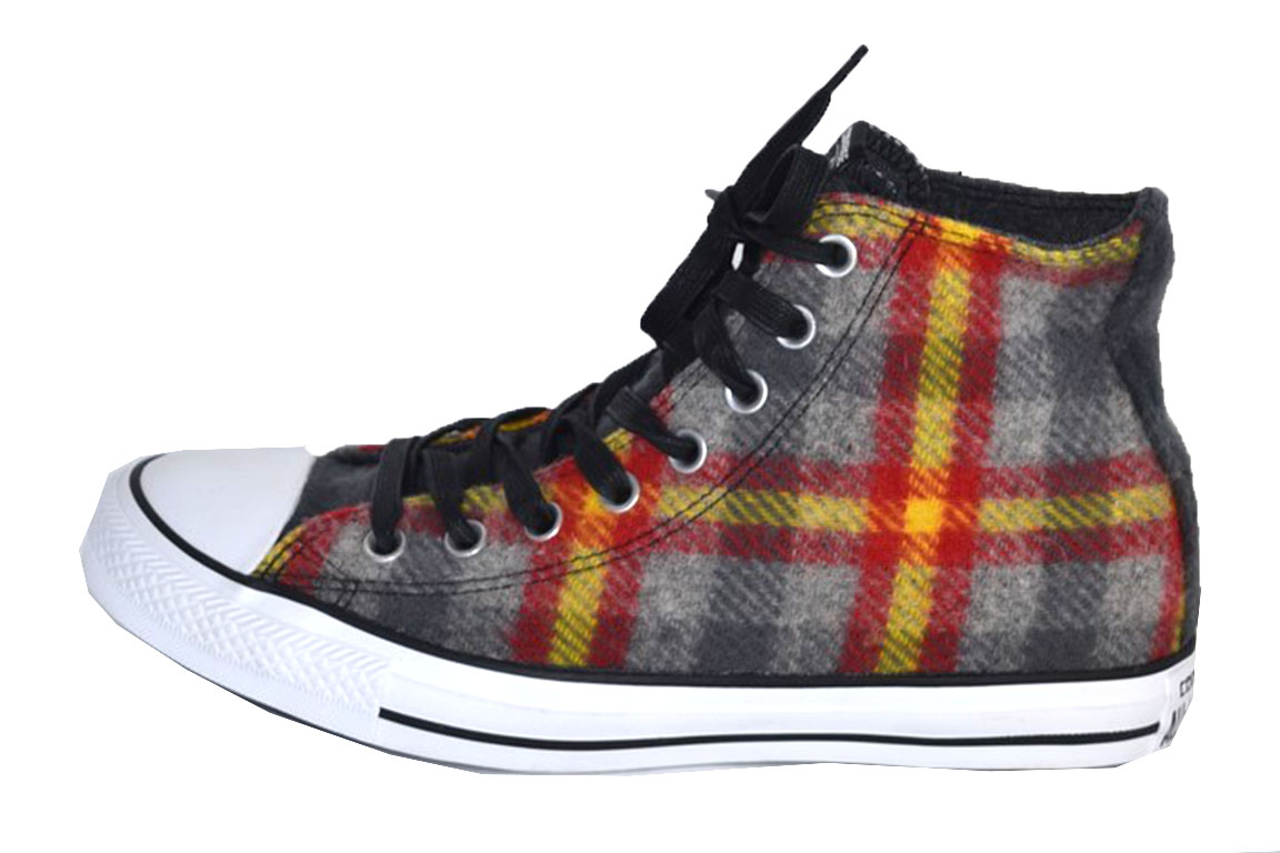 CV1982 Zapatos WOOLRICH Sneakers CONVERSE ALL STAR WOOLRICH Zapatos 41 unisex Multicolore 1342aa
