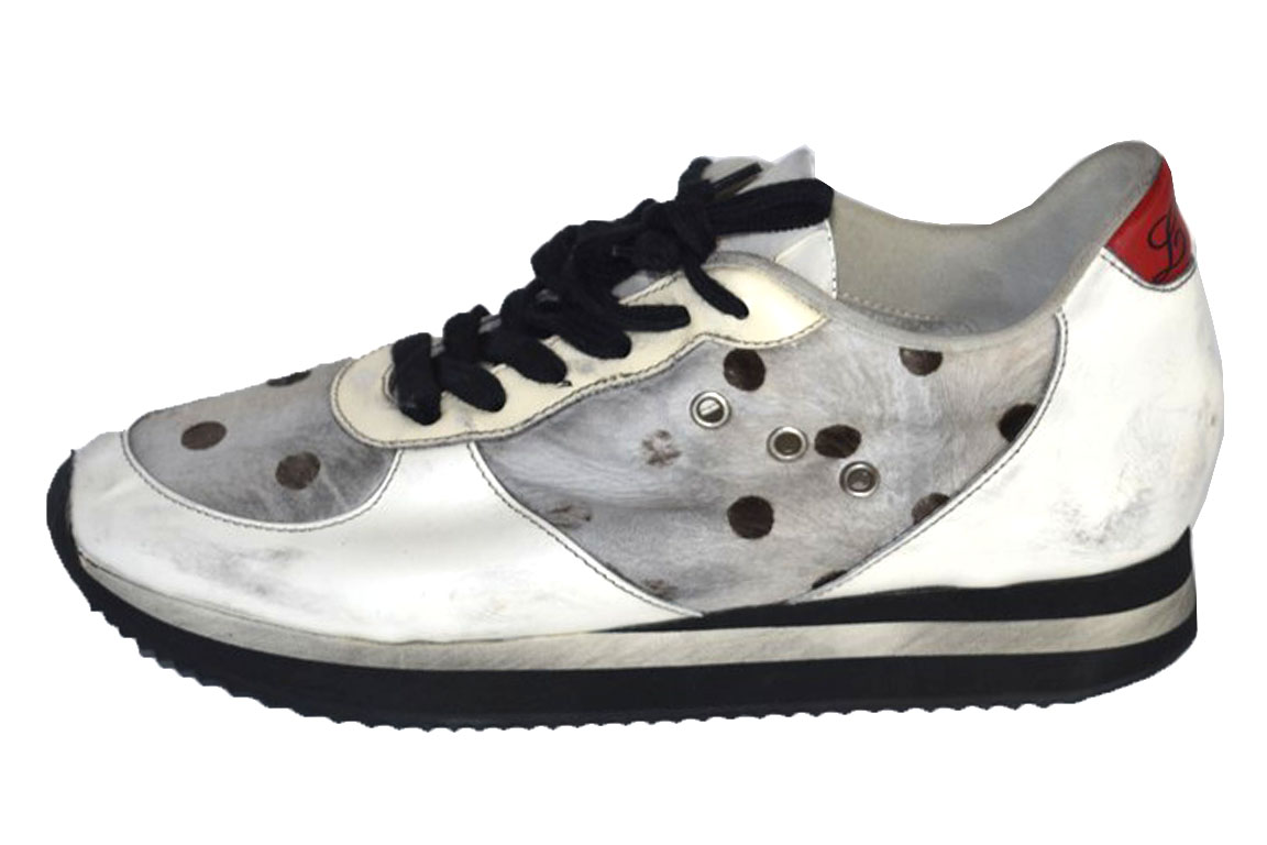 CV2239 Scarpe Sneakers LEATHER CROWN 38 38 CROWN donna Multicolore 385ab4