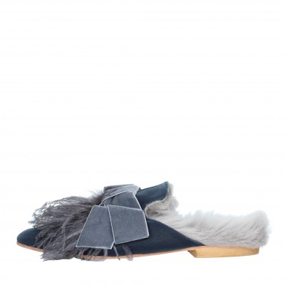 Sabot Mules GIA COUTURE